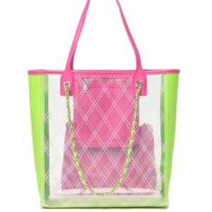 Clear Steve Madden Tote